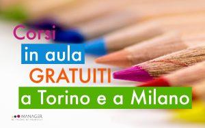Corsi Gratuiti Torino e Milano
