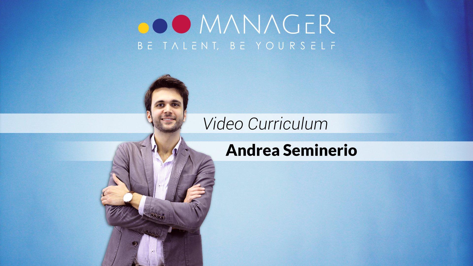 video curriculum Andrea Seminerio