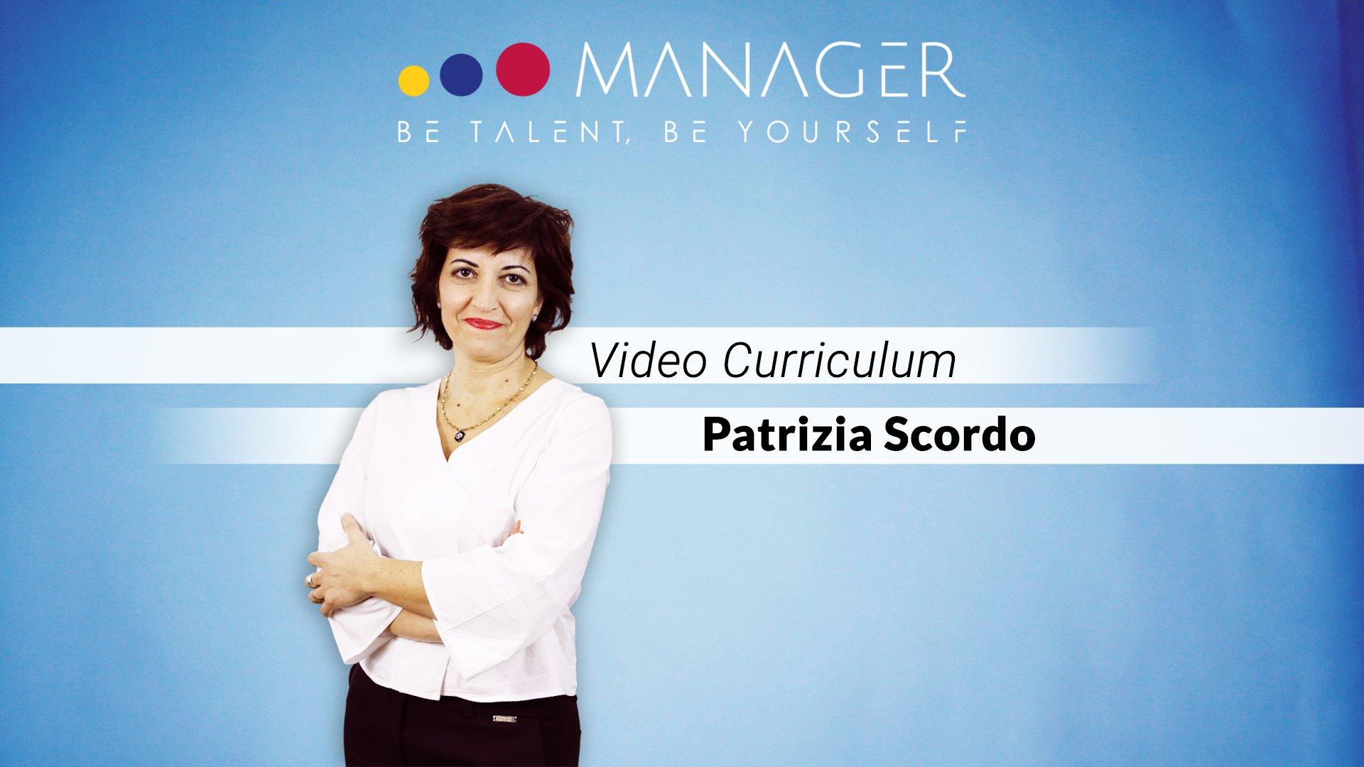 video curriculum patrizia scordo