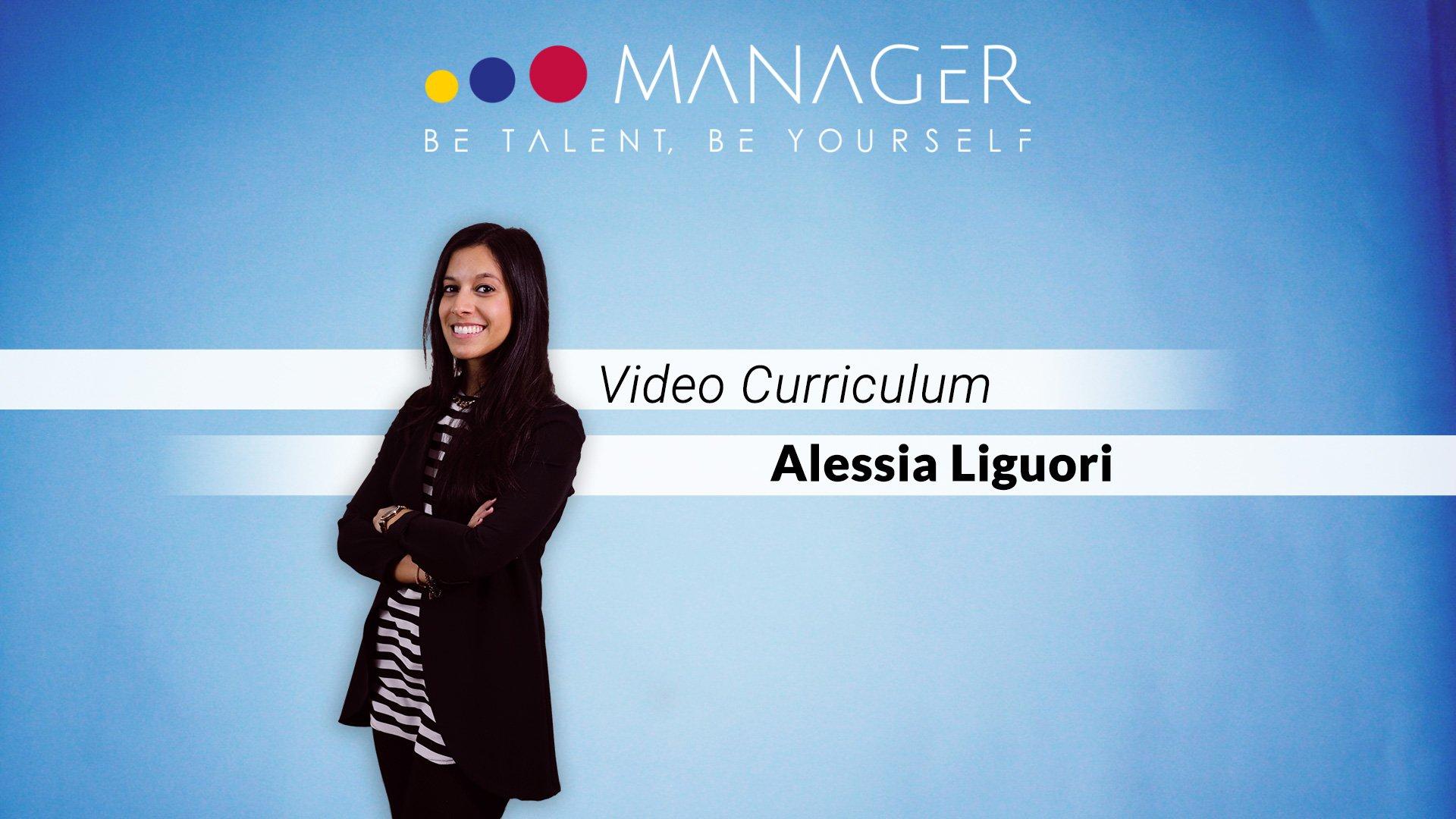 video curriculum alessia liguori