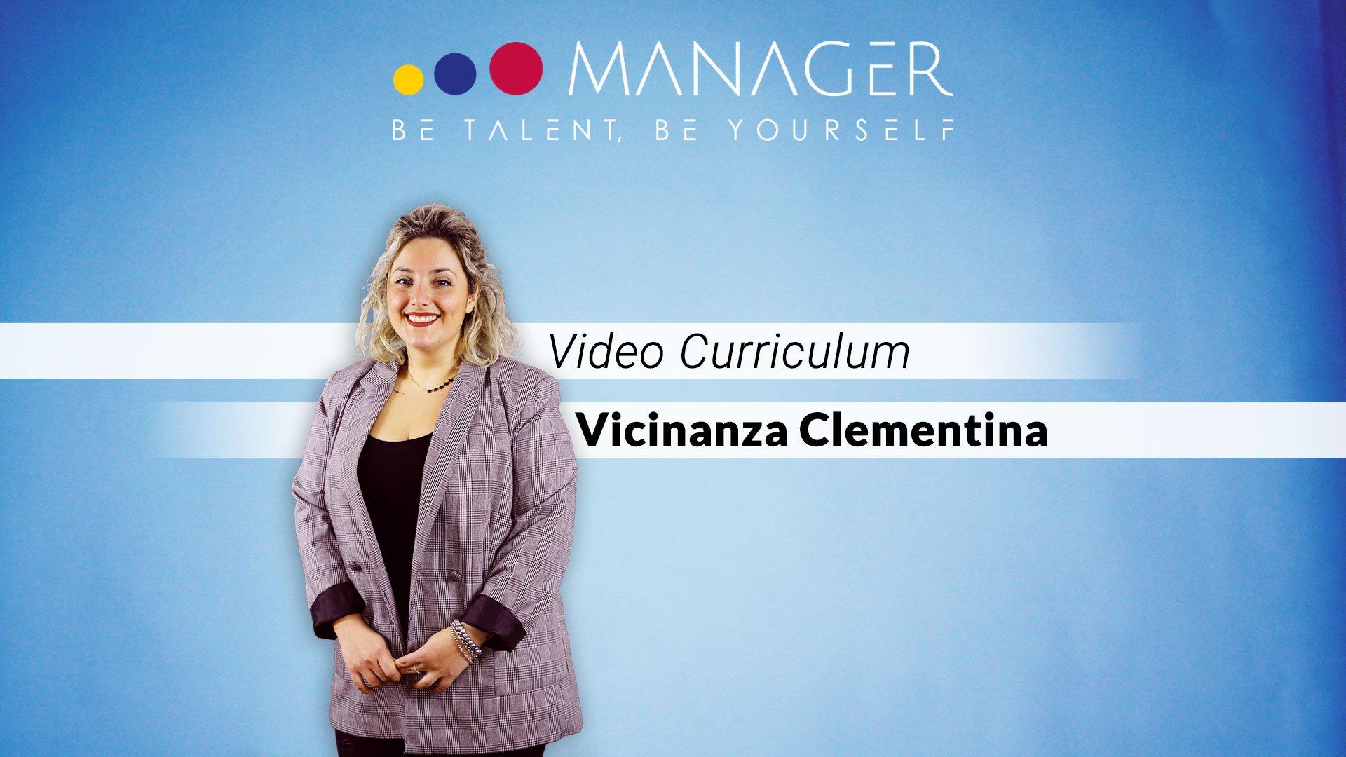 video curriculum clementina vicinanza