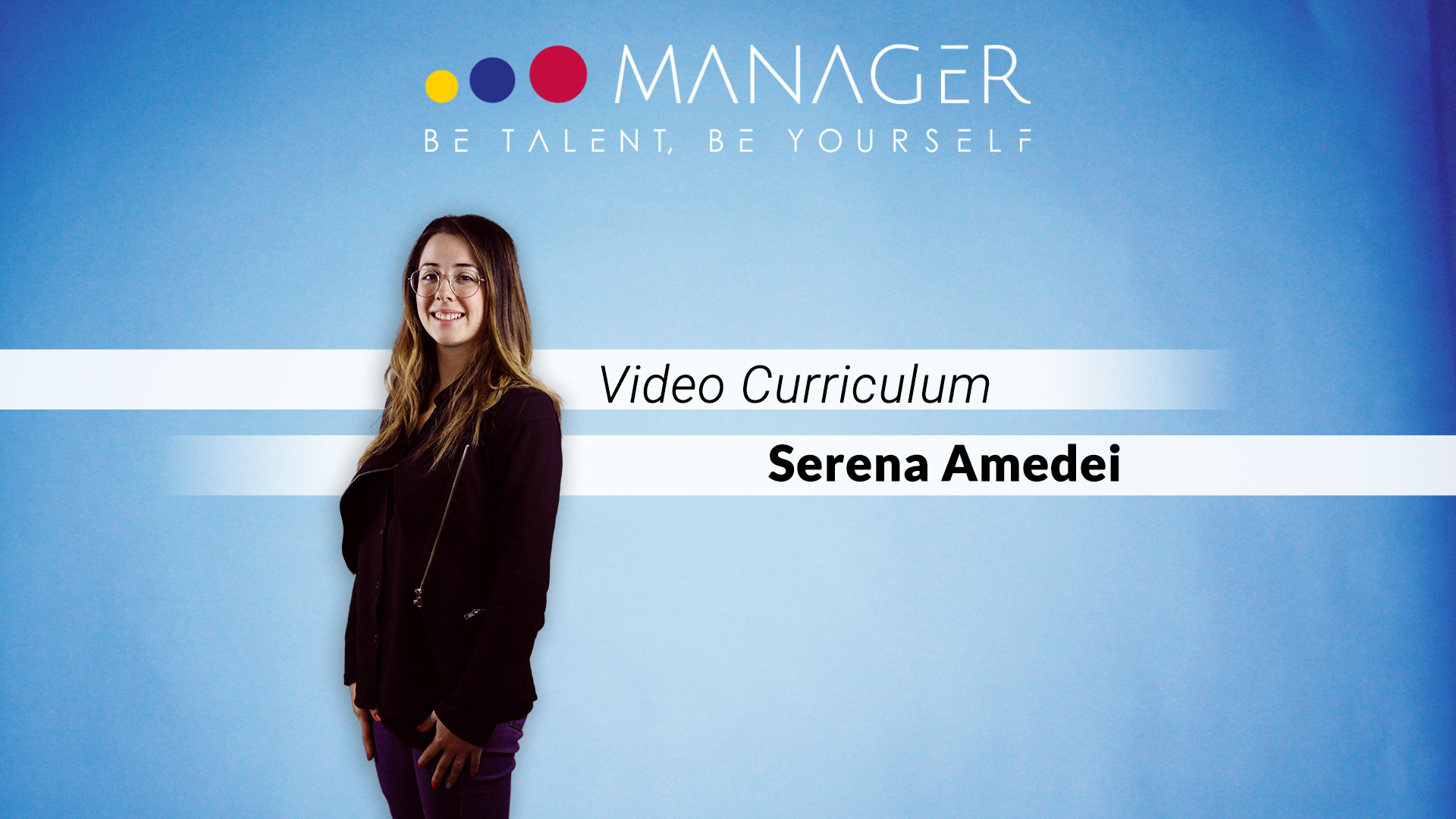 video curriculum Serena Amedei