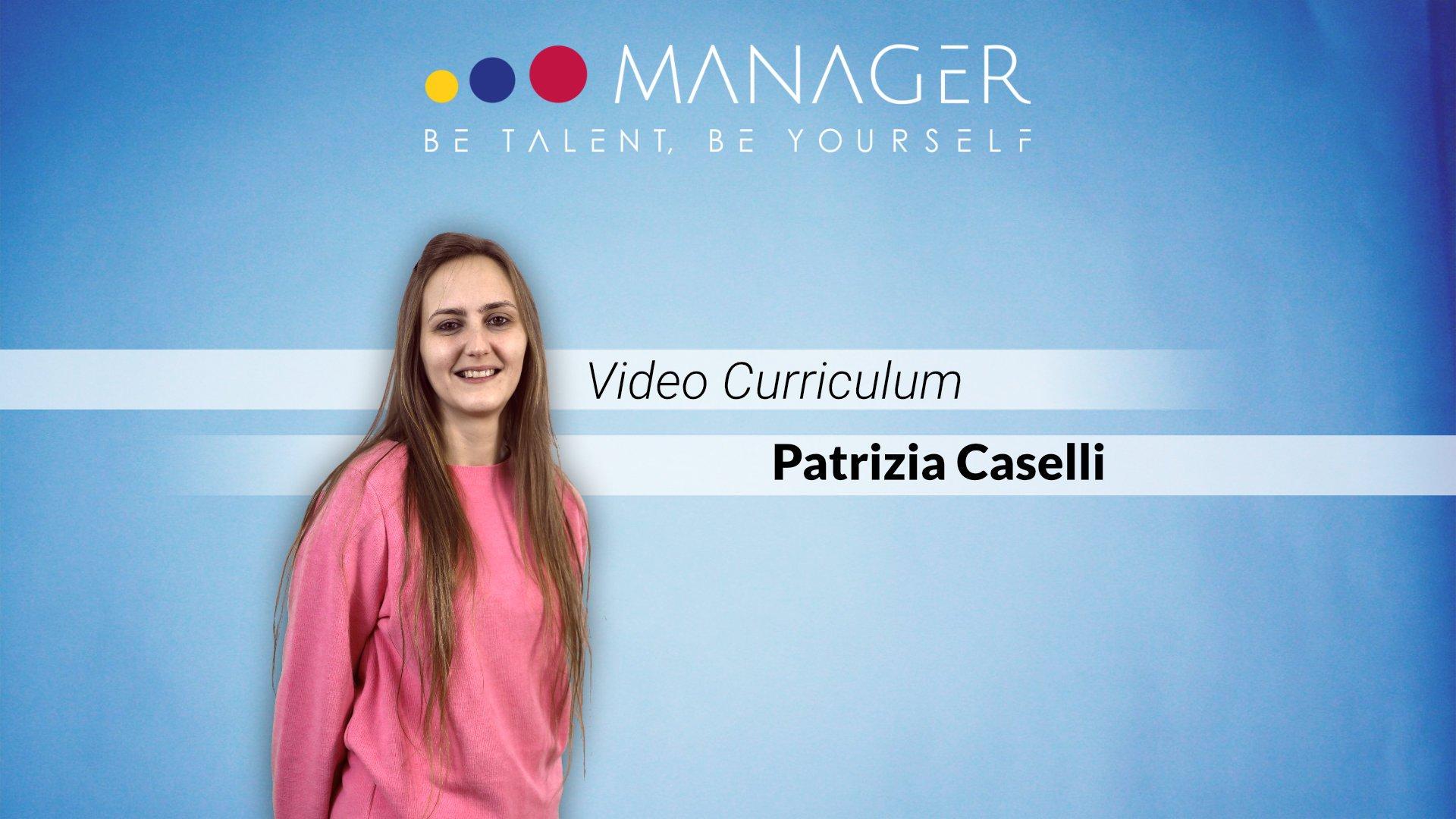 video curriculum patrizia caselli